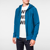 Paul Smith Men's Turquoise Organic Loopback-Cotton Zip Hoodie