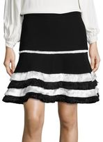 Alexis Tanya Fringe Ruffle Tiered Skirt