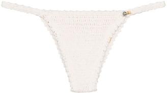 She Made Me Saachi crochet bikini bottoms