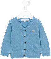 Tartine et Chocolat v-neck cardigan - kids - Cotton/Linen/Flax - 12 mth