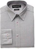 Nick Graham Men's Dot Print Cotton Dress Shirt