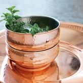 Williams-Sonoma Hammered Copper Bowl