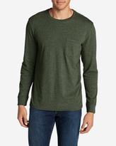 Eddie Bauer Men's Legend Wash Long-Sleeve Pocket T-Shirt - Classic Fit