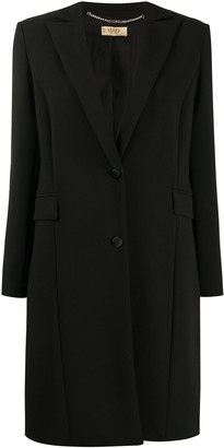 Liu Jo Single-Breasted Fitted Coat