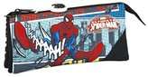 Marvel Spider-Man Ultimate Pencil Cases, 22 cm, Black (Negro)