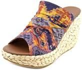 Blowfish Drapey Women US 8.5 Multi Color Wedge Sandal