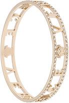 Versace logo embellished bangle