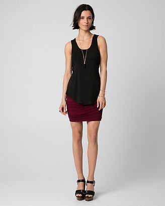 Le Château Slub Jersey Scoop Neck Tank Top