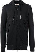 Damir Doma open seam zip hoodie - men - Cotton - S