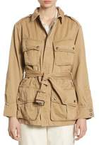 Polo Ralph Lauren Pima Cotton Twill Utility Jacket