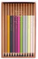 Ted Baker Baker's Dozen Set Of 13 Coloring Pencils - Pink