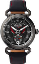 Links Of London Driver Dashboard Red & Black Leather Watch