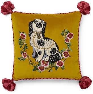 Gucci Embroidered Dog Cushion