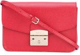 Furla Metropolis Saffiano crossbody bag - women - Calf Leather/Leather/Suede - One Size