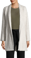 Eileen Fisher Cotton Shawl Lapel Coat