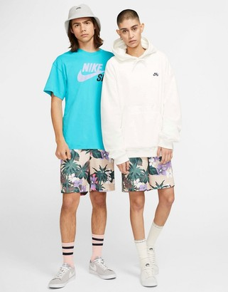 Nike SB floral print shorts