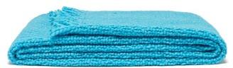 Aessai - Santa Fringed Merino-wool Blend Blanket - Light Blue