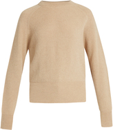 The Row Lenni crew-neck ribbed-knit sweater