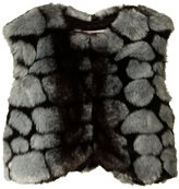 Appaman Faux Fur Vest (Baby) - Pebble Fur - 18-24 Months