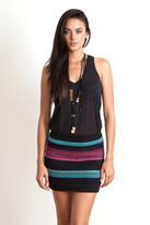 Goddis Tavi Knit Skirt In Black Sable