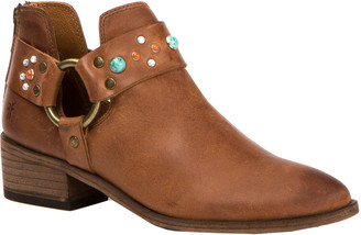 Frye Ray Stone Harness Leather Bootie