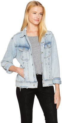 Siwy Women's Dana Oversized Jacket in The Power of Love X-Small