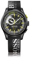 HUGO BOSS 1513337 Yachting Chronograph Silicone Strap Watch One Size Assorted-Pre-Pack