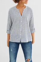 Esprit Vertical Stripe Blouse Top