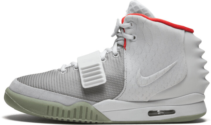 Nike Air Yeezy 2 NRG 'Pure Platinum' Shoes - Size 9.5