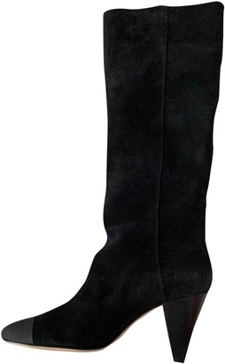 Sandro Fall Winter 2019 Black Suede Boots