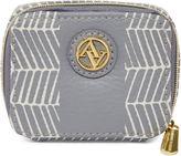 Adrienne Vittadini Purple Zip Around Pill Box