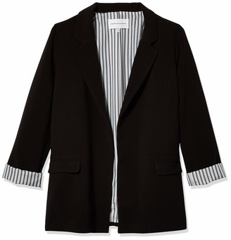 Cupcakes And Cashmere Women's Siri Rolled Sleeve Blazer