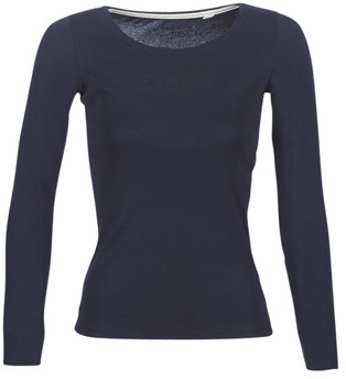 Esprit 089EE1K041-400 women's Long Sleeve T-shirt in Blue