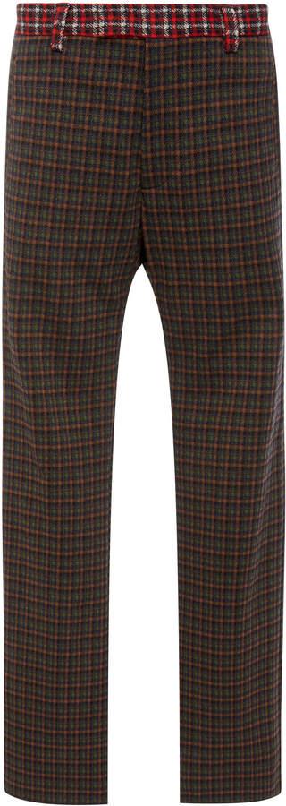 Marni Mixed Plaid Pants