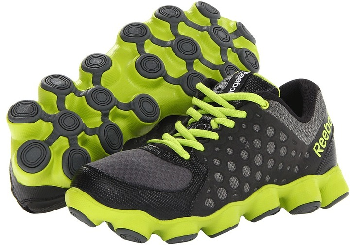 Reebok Kids - ATV19 (Big Kid) (Black/Rivet Grey/Sonic Green) - Footwear