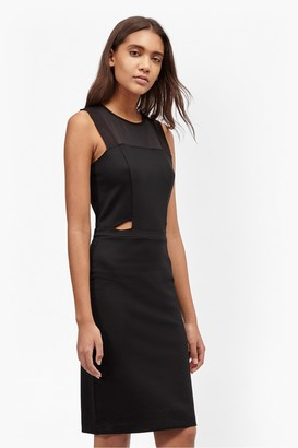 French Connection Lula Cut Out Fitted Dress