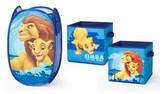Disney Lion King Pop Up Hamper and 2-Pack Storage Cubes