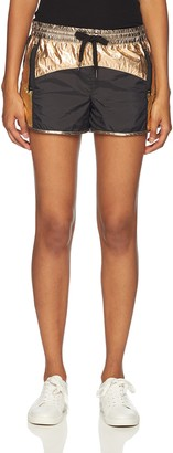 Pam & Gela Women's Nylon Coloblock Short