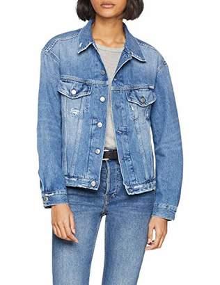 Replay Women's W311 .000.108 466 Denim Jacket, ( Blue 10)