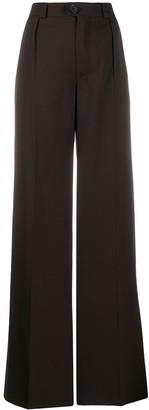 Kwaidan Editions High-Waist Flared Trousers