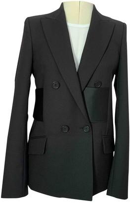 Maison Margiela Black Wool Jackets