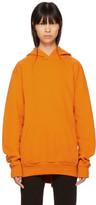 MM6 MAISON MARGIELA Orange Heavy Brushed Hoodie