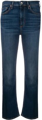 Rag & Bone Nina high-waisted flared-hem jeans