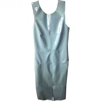 Richard Nicoll Turquoise Patent leather Dress for Women