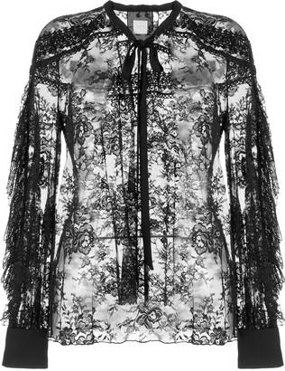 Ingie Paris Lace Sheer Blouse