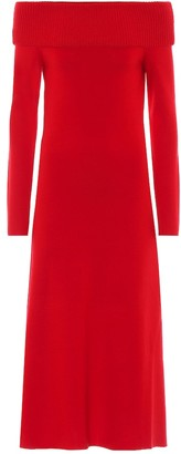 Gabriela Hearst Exclusive to Mytheresa Judy wool-blend dress