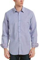 Robert Graham La Monica Linen-Blend Classic Fit Woven Shirt