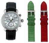 Sartego Women's SDMP187B Diamond Collection Swiss Quartz Movement Watch