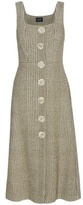 Simone Rocha Houndstooth Cotton-blend Dress