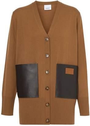 Burberry Oversized Pocket Cardigan
